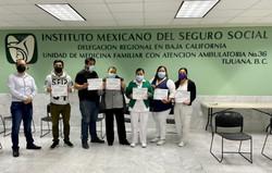 Responsabilidad ambiental dirigido a personal de la UMAA 36, impartido por personal docente CCyC Tij