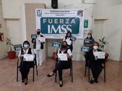 Curso Fuerza IMSS  impartido por personal docente del Centro de Capacitación y Calidad Yuc