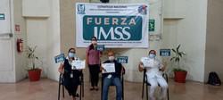 Curso Fuerza IMSS impartido por personal docente del Centro de Capacitación y Calidad Yuca