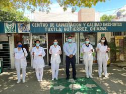 Curso Igualdad de Género impartido por el Centro de Capacitación y Calidad, Tuxtla Gutiérr
