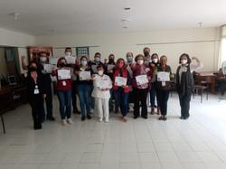 FUERZA-IMSS, dirigido al personal de la Clínica 80, impartido por docentes del CCyC Morelia