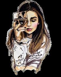 wine-drawing-woman-sketch-drink-6984ba69