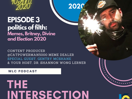 Oct 31 10AM Intersect with Our Podcast on Election 2020, Memes, Censorship, and Online Community
