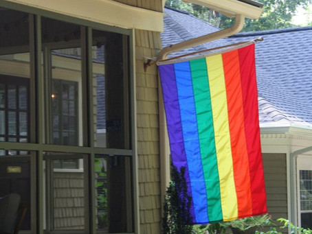 A Love Letter to My First Rainbow Flag