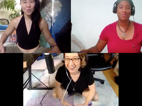 "Take a Break from ""Diversity Talk""–Instead Vocalize, Breathe, and Move with 3 Bad-Ass BIPOC Coaches"