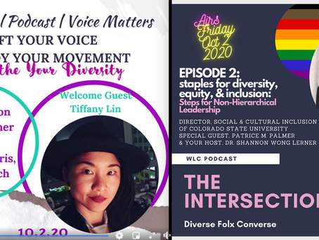 You're Invited to 2 Very Different Kick-Ass BIPOC/API Queer Podcast Premieres TODAY! JOIN US!