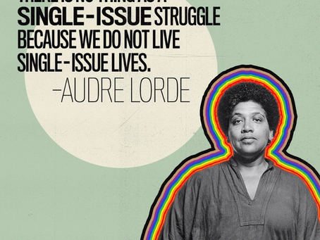 #Intersectionality: We Do Not Live Single-Issue Lives–Let's bring our focus to#DEI