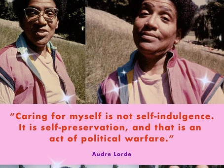 My Self-Care is Not Self-Indulgent: Diverse People, Life-Work Balance, & Public Speaking