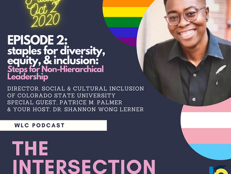 The Intersection: Diverse Folx Converse Podcast with Patrice M. Palmer Premieres in One Hour!