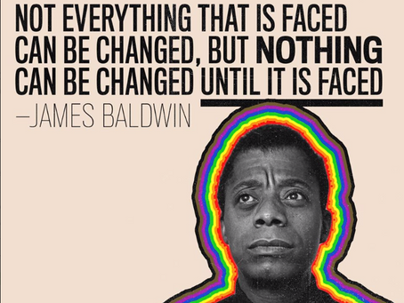 #BeHeard: Nothing Can Be Changed Until It Is Faced