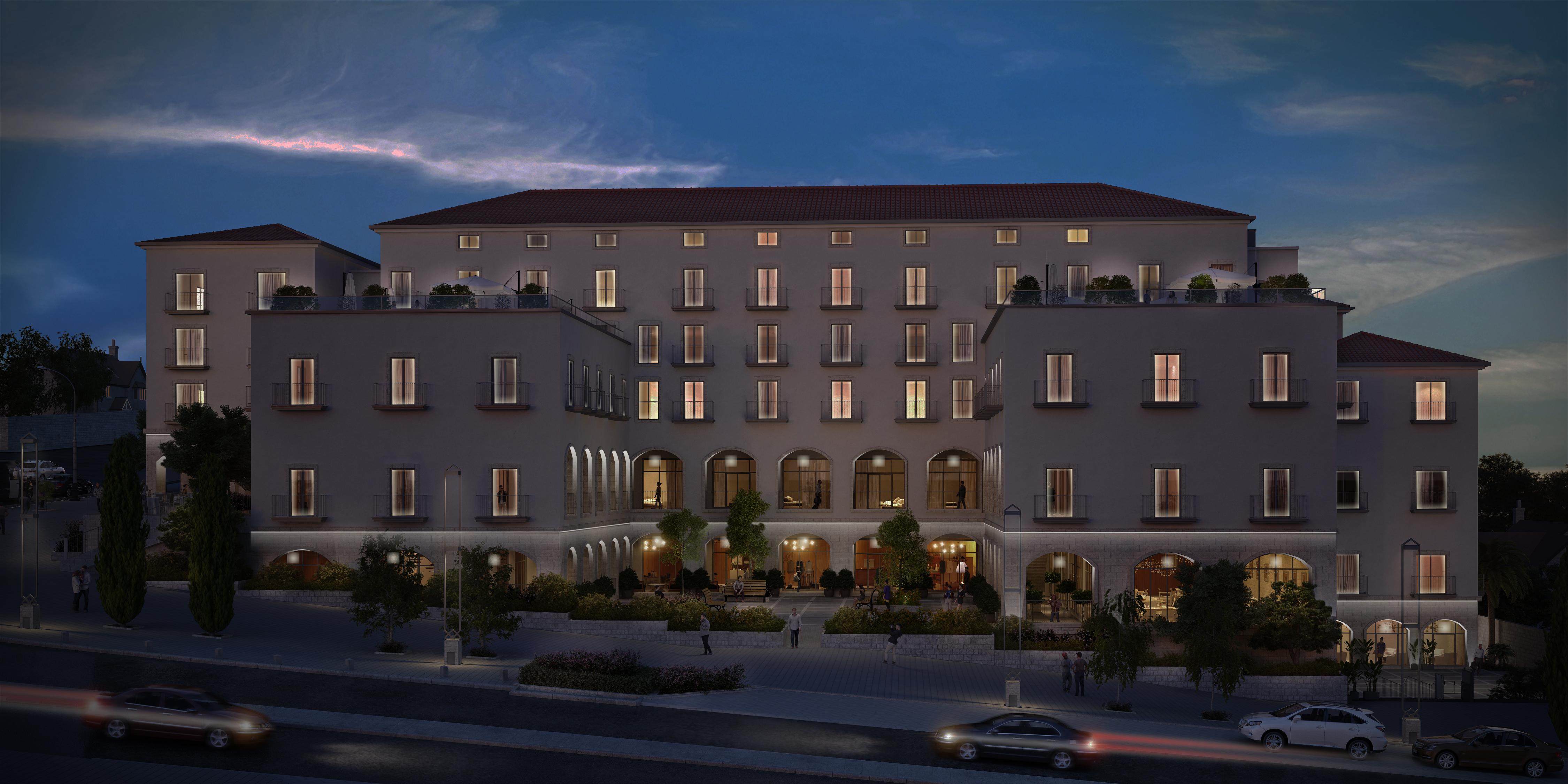 Hotel Hamoshava Hagermanit Haifa