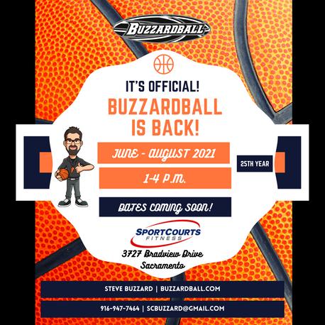 Buzzardball is Back This Summer!