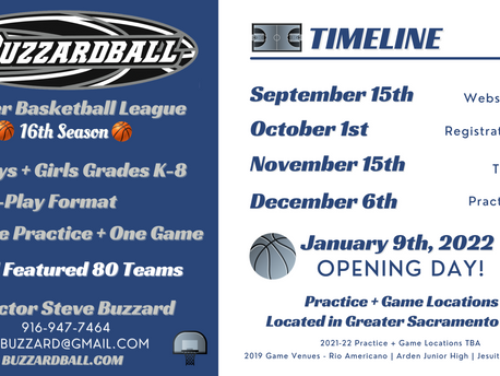 2021-22 Buzzardball Winter Basketball League - Let's Do This!