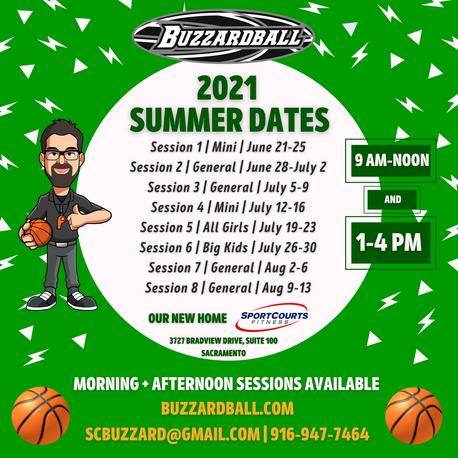 Buzzardball Summer 🏀   Nuts + Bolts
