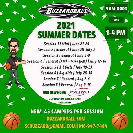 Buzzardball Summer 🏀 | Nuts + Bolts