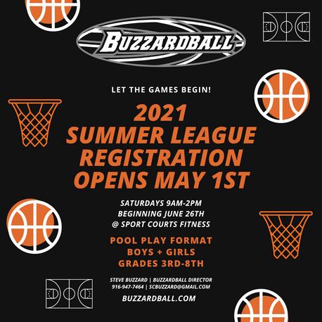 New! Buzzardball Summer League