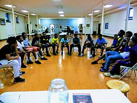 Youth EMpowerment Training session