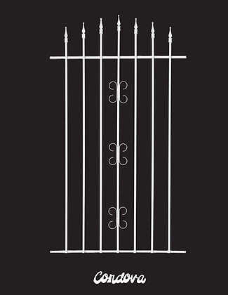 Cordova, screen door grille