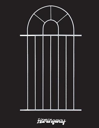 Hemingway, screen door grille