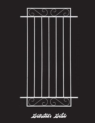 Garden Gate, screen door grille