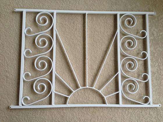 Empire Sun, half screen door grille