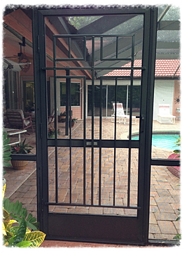 All Weather Screen Door Grilles