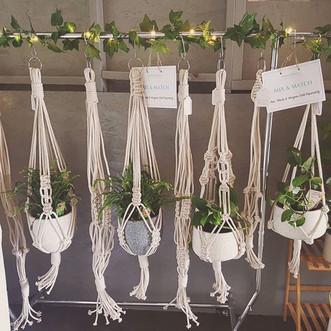 Chunky Plant Hanger available @ Market Fair