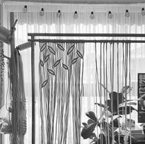 Work in progress - Macrame Curtain