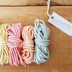 Macrababy Hand Dyed Cotton Yarn