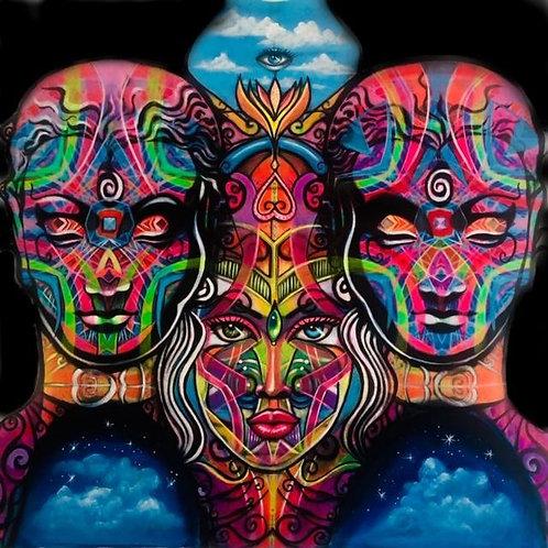 Sacred Trinity Goddess