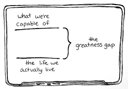 greatness gap, potential, life coaching