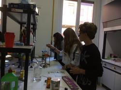 In laboratorio...