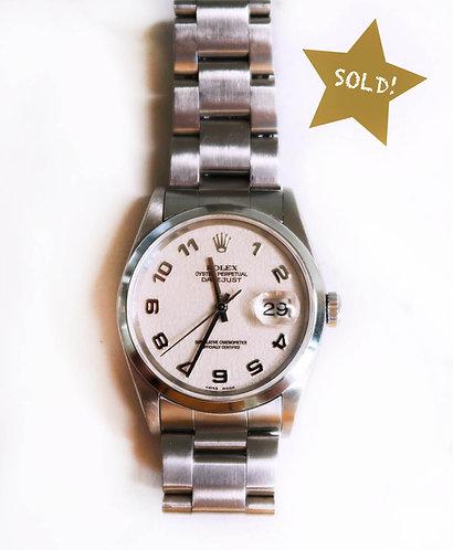 Rolex Datejust 16200 Jubilee Dial
