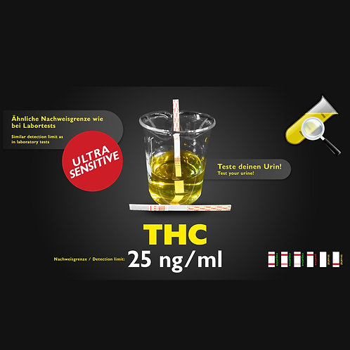 THC Urintest sensitiv 25ng