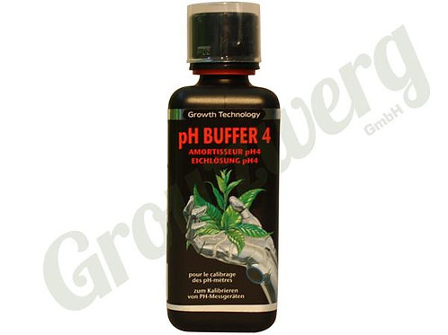 PH Buffer 4 - 300ml - Growth Technology Ltd.