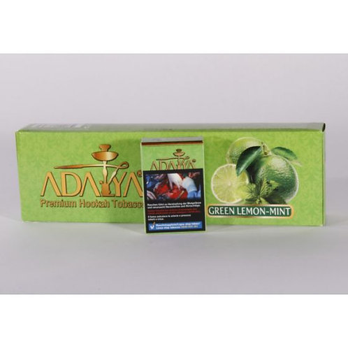 1x Adalya Tabak Green Lemon Mint