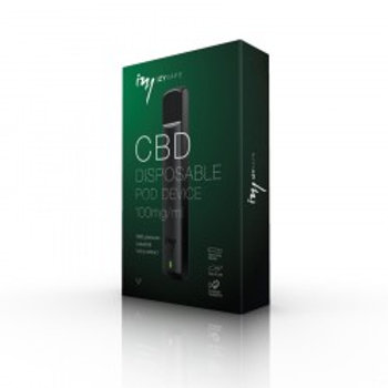 IzyVape Einweg CBD-Pod Kit, 100mg/ml