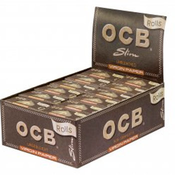 OCB-Unbleached Rolls Virgin Paper