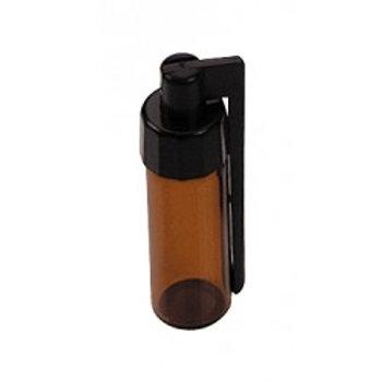 Glasflasche Large (2g) mit Löffel aussen