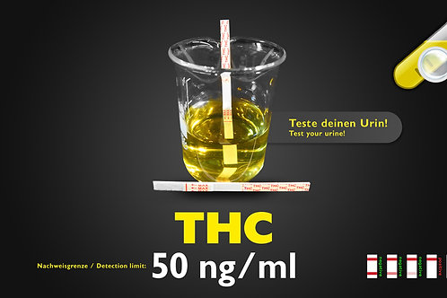 THC Urintest 50ng