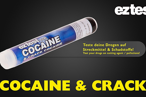 EZ Test Cocaine&Crack
