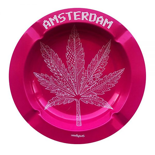 Best Buds – Pink Weed Leaf Metal