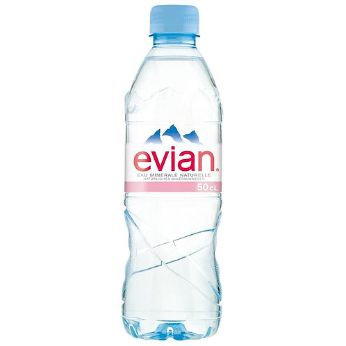 Evian 50cl Pet