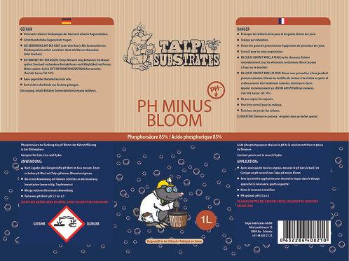 Talpa PH minus bloom - Phosphorsäure - 1l Flasche