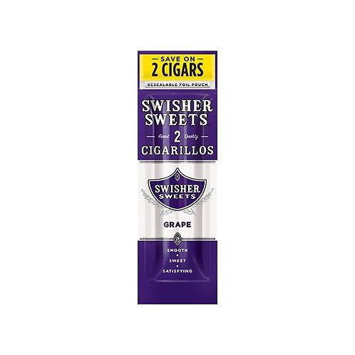 Swisher Sweets Cigarillos Grape 1x2Stk