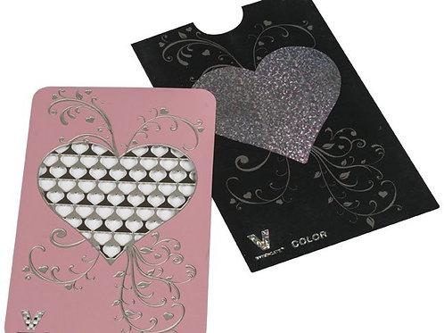 Grinder Card - Herz (Rosa Gold)