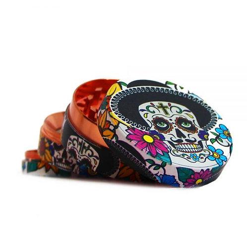 Mexican Skulls Metal Grinders 52mm – 4 parts