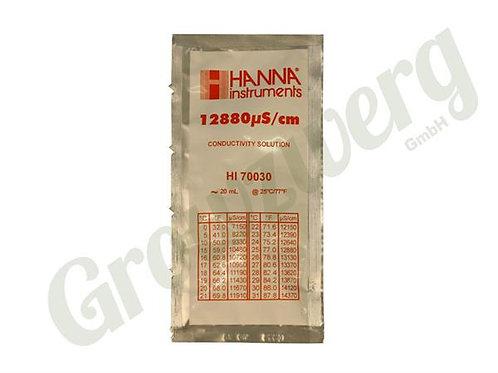 Eichflüssigkeit 1413 uS/cm - 1 Beutel à 20ml