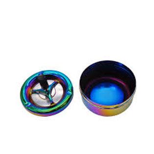 HORNET Regenbogen Farbe Edelstahl Aschenbecher
