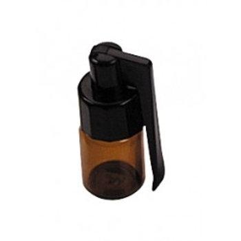 Glasflasche Medium (1g) mit Löffel aussen